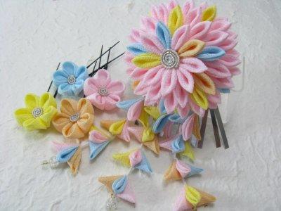 画像1: 砂糖菓子の花