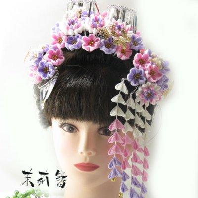 画像1: 桜舞妓 紫0632