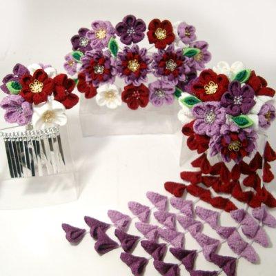 画像3: 桜舞妓 紫0632