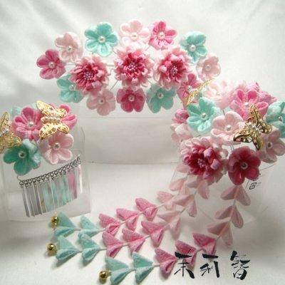 画像2: 桜舞妓 紫0632