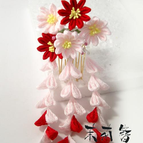 つまみかんざし菊